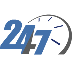 24 Hour Emergency Service Icon